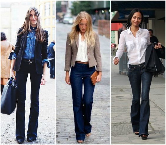 Bootcut jeans shopping tips and how to style them for work http ...
