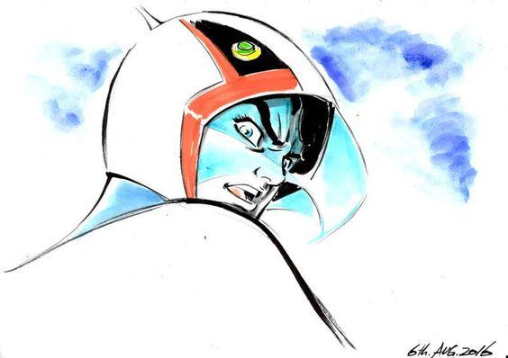 もの凄い剣幕で振り返る大鷲の健のかっこいい画像。