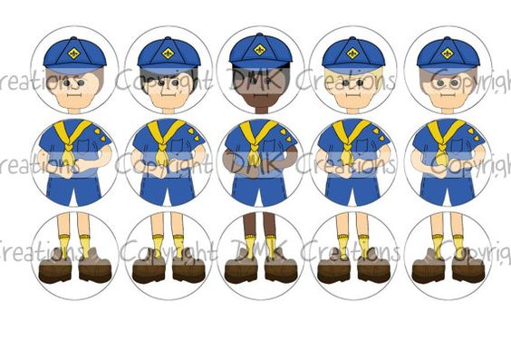 Build a cub scout wolf ornament bottle cap images 4x6 for Cub scout ornament craft