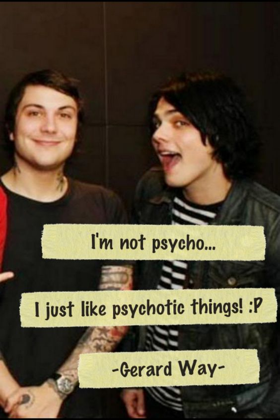 Lol, yup, that sounds like Gerard.... I miss my Jersey boys.