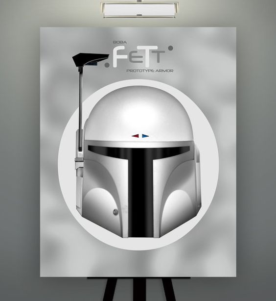 Star Wars Inspired Boba Fett Prototype Herofied Helm by Herofied