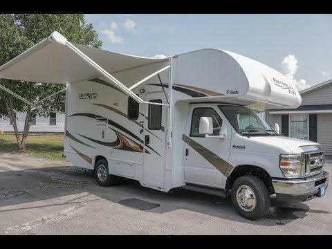 2017 Thor Freedom Elite 22fe Class C Motorhome Slide Out 7k