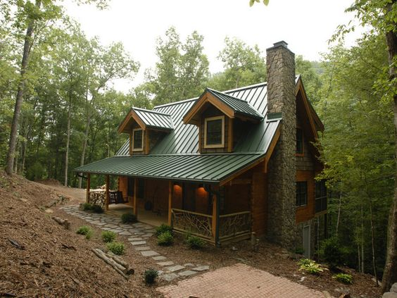 Blog cabin rustic log cabins the cozy mountain retreat for Rustic log cabin siding