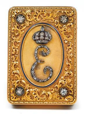 """""""Empress Eugenie of France""""  Nothing but other pins on Google; original site gone.  Any information about this object?"""