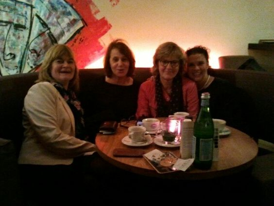 24.3.15 Gezellige dameslunch bij Luden op t Plein, met Truus, Saskia & Suzan.
