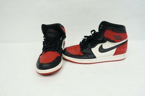 Nike Air Jordan 1 Retro High Og Bred Toe Black Red 555088 610 Sz 9