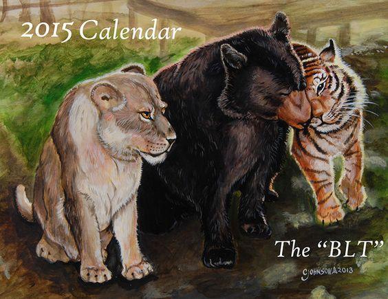 2015 Noah's Ark Calendar