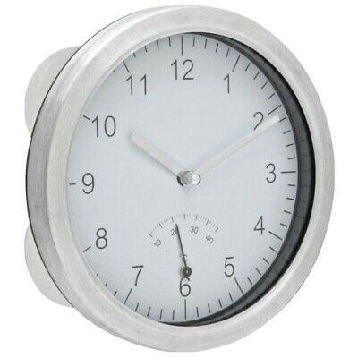 Pin Von Helene Meile Auf Badezimmer In 2020 Badezimmer Uhren Uhr Silber Wanduhr