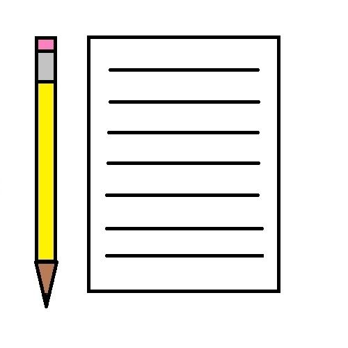 18+ Notebook paper and pencil clipart ideas in 2021