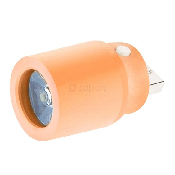 USB Mini LED Lights Energy Saving Night Light, Orange