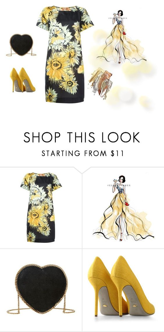 """""""Untitled #1748"""" by doinacrazy ❤ liked on Polyvore featuring N°21, Disney, STELLA McCARTNEY, Sergio Rossi, women's clothing, women's fashion, women, female, woman and misses"""