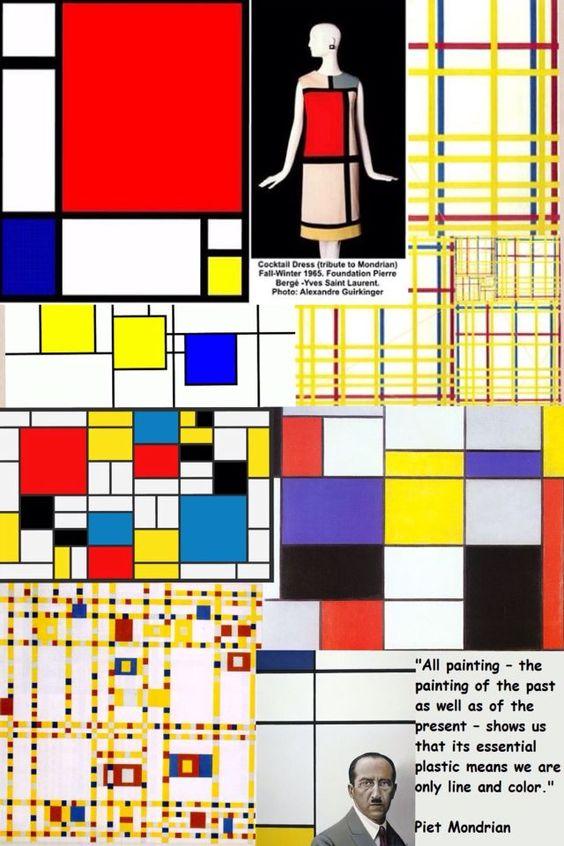 """Pieter Cornelis Mondrian """"... conhecido por Piet Mondrian(Amersfoort, 7 de Março de 1872 - Nova Iorque, 1 de Fevereiro de 1944) foi um pintor neerlandês modernista. Criou o movimento artístico Neoplasticismo e colaborou com a revista De Stijl e depois com as formas da pintura concreta"""". Fonte: Wikipedia. Acesso dia 27 de maio de 2015.:"""