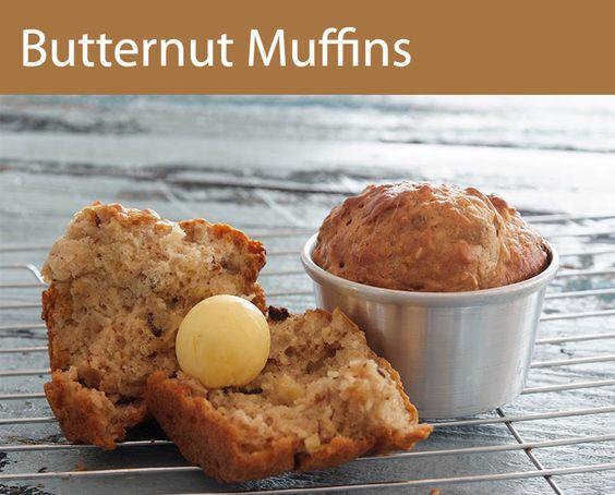 Butternut Muffins.  Jummy!