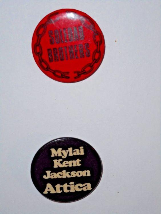 Soledad Brothers Jackson. Drumgo and Clutchette  Mylai Kent Jackson Attica