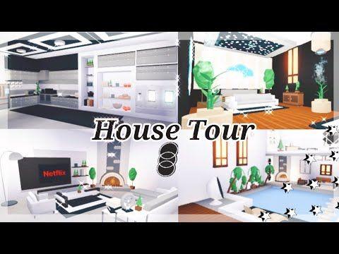 Modern Futuristic House Tour Roblox Adopt Me Attanasio Youtube Modern Futuristic House Futuristic House Home Roblox
