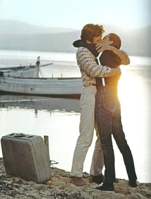 Audrey Hepburn and Albert Finney in Two For The Road, 1967.