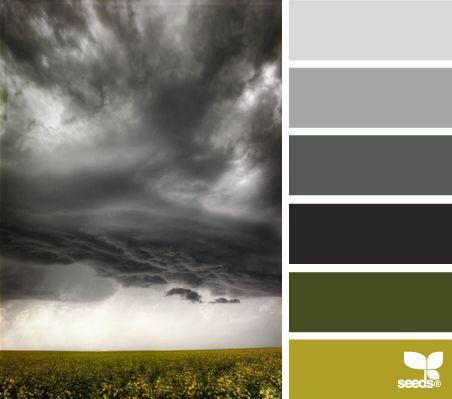 Colores de tormenta