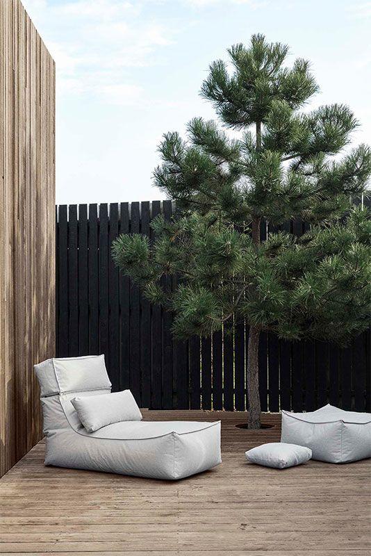 Outdoor Liege Stay Coal Grau Von Blomus Erkmann Terassenentwurf Scandi Living Outdoor