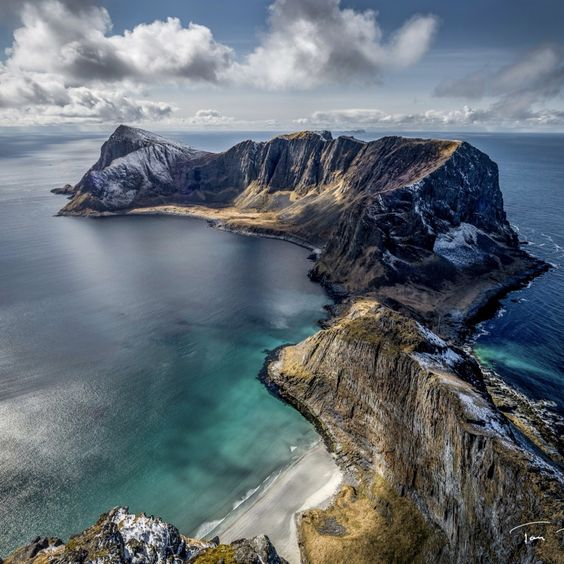 Vaeroy Island, Norway