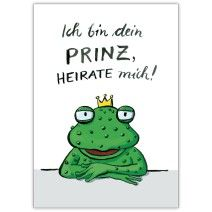Romantischer Hochzeitsantrag: Ich bin dein PRINZ, heirate mich!