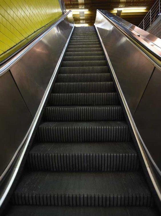6074 Escalator Backdrop
