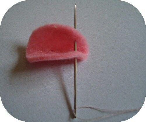 Como fazer uma flor de feltro —1