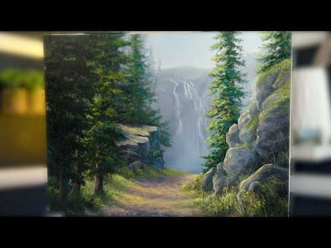 New Youtube Video I M Going To Try Doing Two Youtube Videos A Week So I Hope You Enjoy This Week S Painti In 2020 Oil Painting Landscape Oil Painting Videos Painting