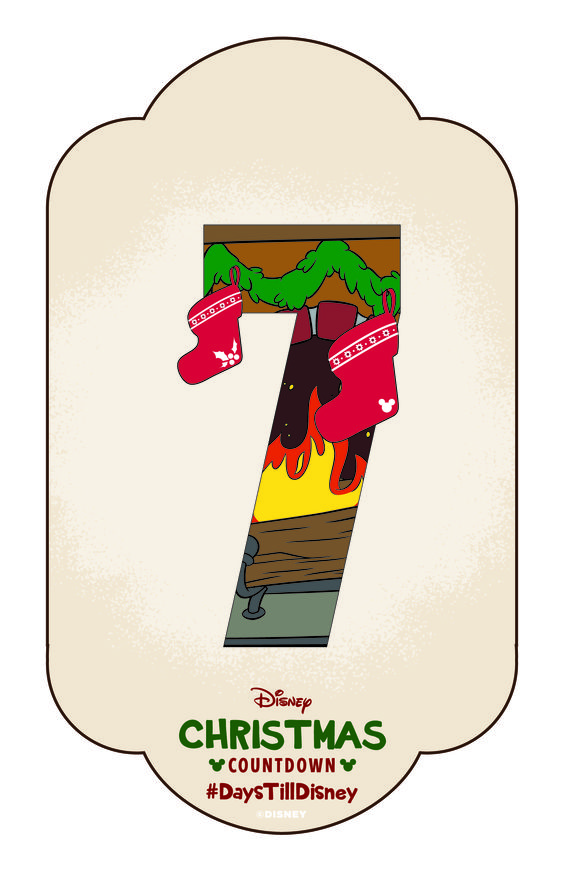 Click to learn how to create your own disney christmas for Make your own christmas countdown calendar