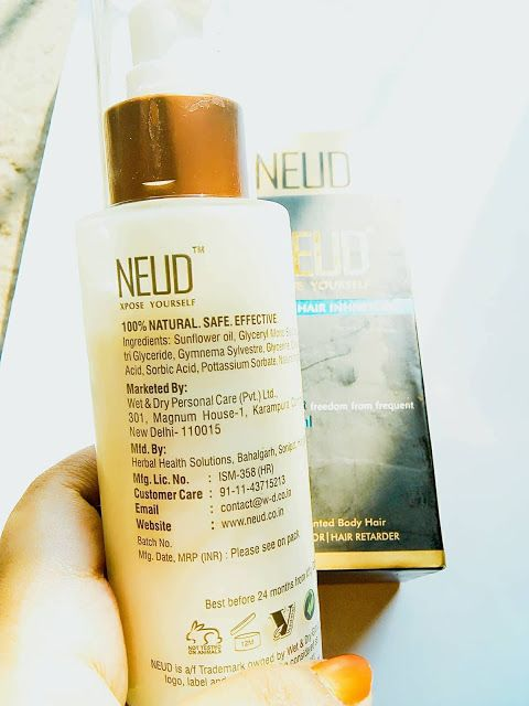 First Impression Neud Natural Hair Inhibitor Natural Hair