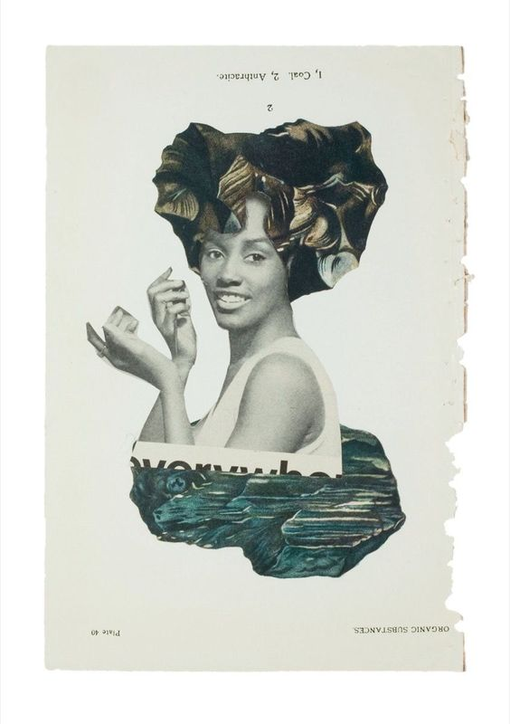 Hair Is a Vibrant Source of Power in Lorna Simpson's Fantastical Collages - Artsy