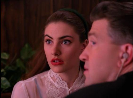 David Lynch - Twin Peaks set