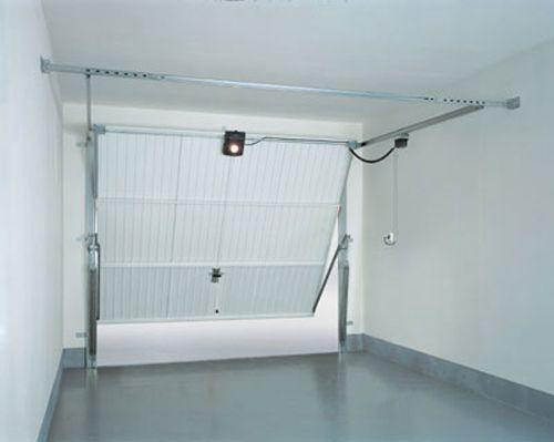 Motorisation De Porte De Garage Basculante La Porte De Garage Basculante Consiste En Une Structure Simple D Ouverture Vers Le Locker Storage Home Decor Home