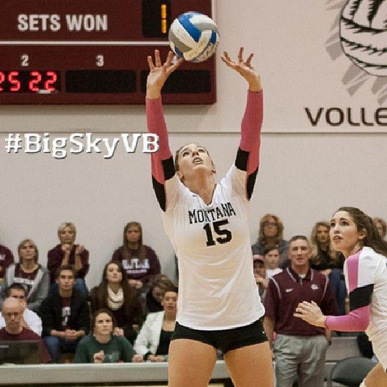 Sept. 16 - UM's Kortney James named Big Sky Conference Volleyball Player of the Week. #BigSkyVB #GoGriz