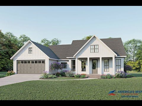 Affordable Home Ch63 Affordable House Plans New House Plans Dream House Plans