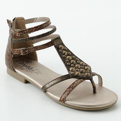 Mudd Gladiator Sandals