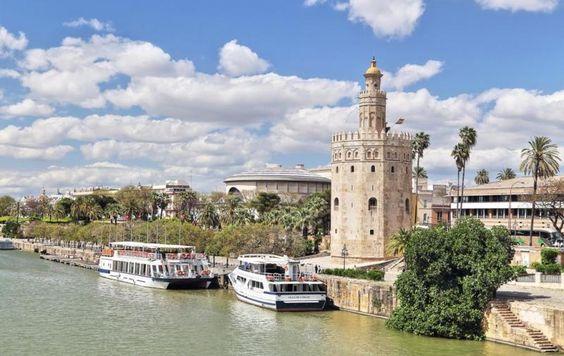 Torre del Oro, Sevilla - Estilo Almohade
