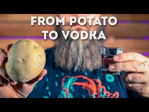 How To Make Potato Vodka Youtube How To Make Potatoes Vodka Vodka Taste
