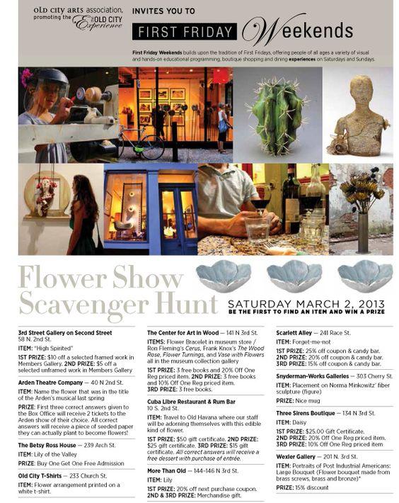 First Friday Scavenger Hunt!