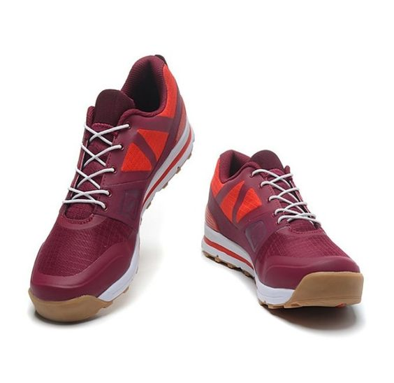 best service ef6dc 5fa53 ... purchase rss product feed chaussures trail salomon outban low rouge  beige blanc 91e4f 24a00 ...