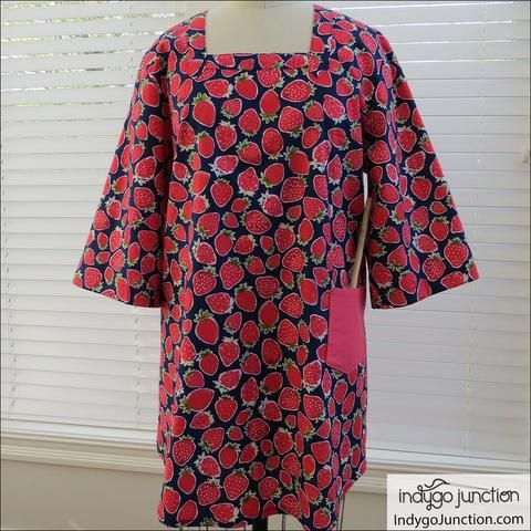 SIXTIES SMOCK SEWING PATTERN From Indygo Junction NEW