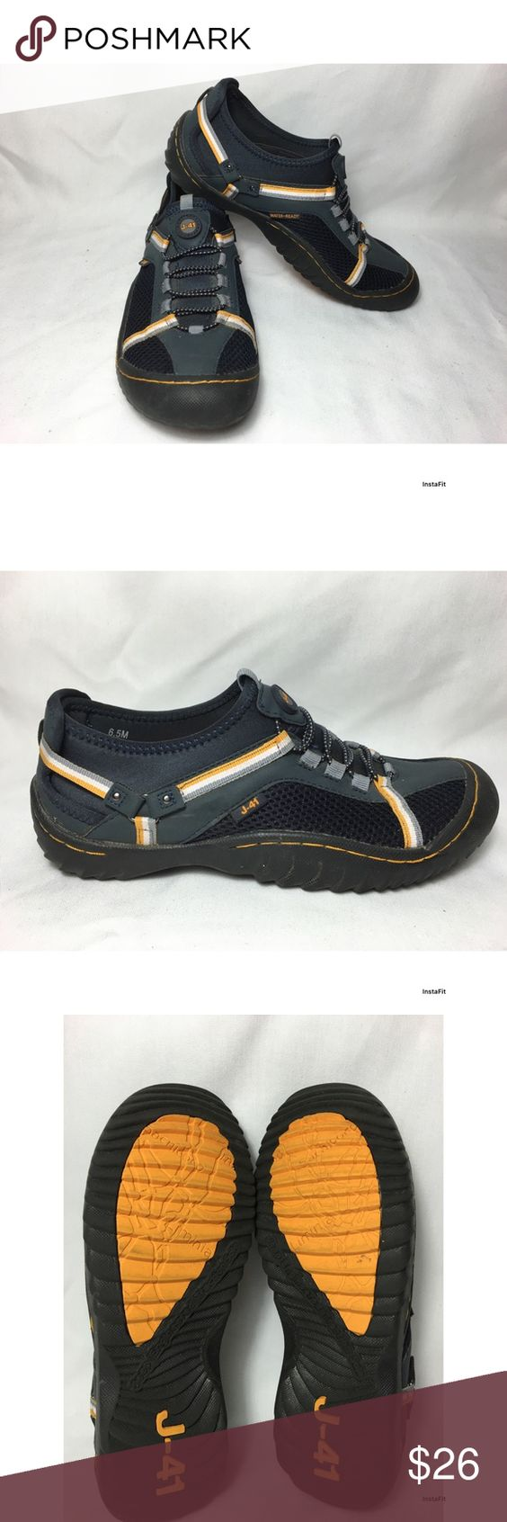 J-41 by Jeep sport sneakers These are J-41 Jeep engineered traction sole and water-ready sport shoes. These shoes are semi used but are in excellent condition. Jeep Shoes Athletic Shoes