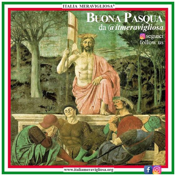 La resurrezione di Piero della Francesca - Italia Meravigliosa