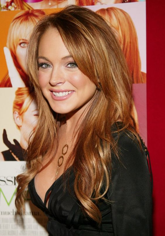 """Lindsay Lohan when she was super cute and the hottest thing to happen to """"Mean Girls."""""""