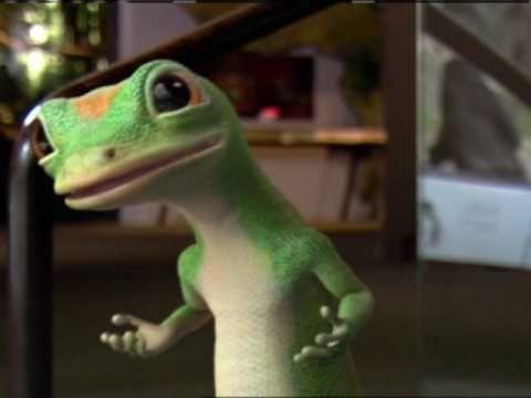 GEICO Gecko with a Gorilla