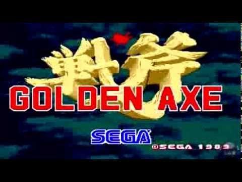 Golden Axe (Mega Drive - Genesis): Intro - Abertura HD