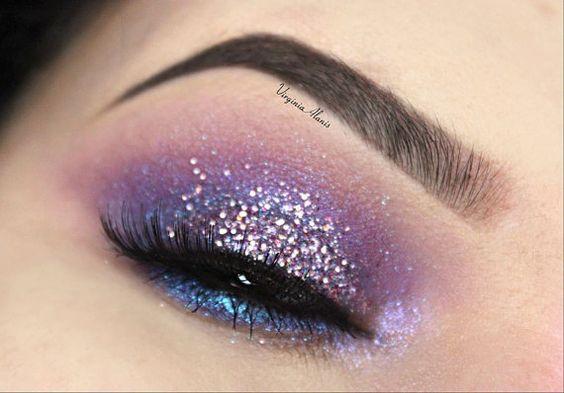 Virginia Glitter Loose Cosmetic Glitter Eyeshadow Eyeliner Nail Art Makeup