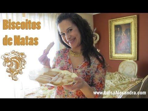 Biscoitos de Natas • www.luisaalexandra.com