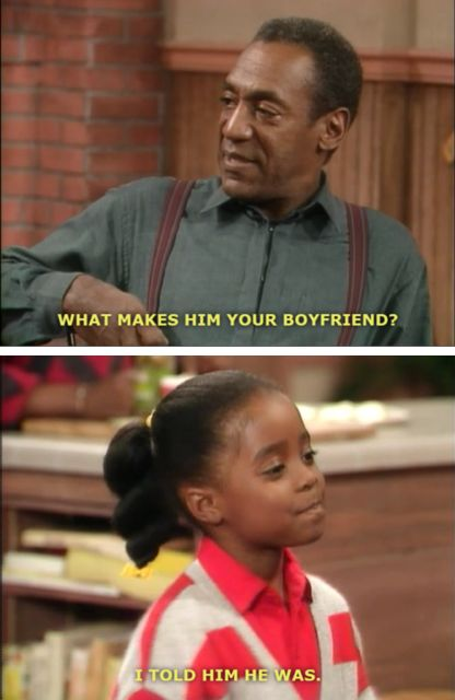 :) the Cosby showshe s always my favorite ..she
