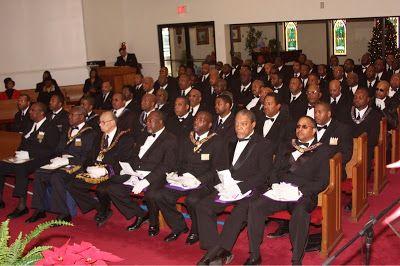 Photo of Rapper Jay Z in Masonic Dress at Freemason Church Funeral Service