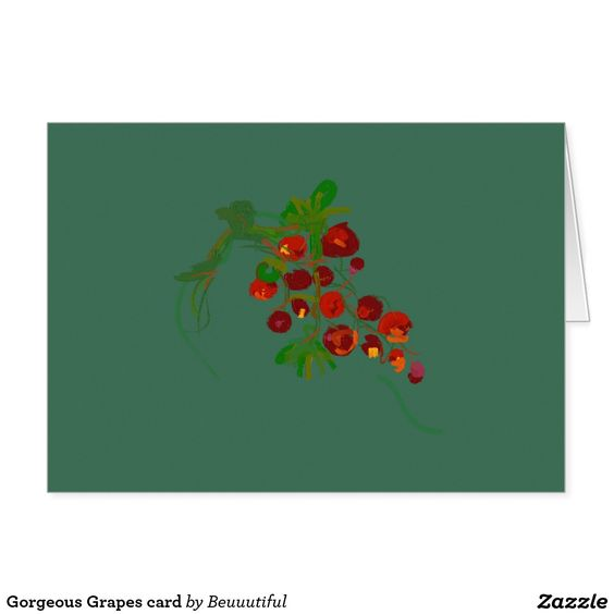 Gorgeous Grapes card